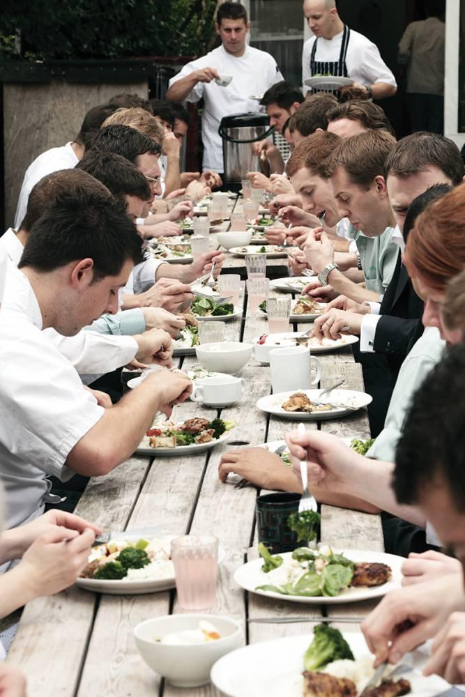 【歡迎光臨打烊餐廳】肥鴨餐廳:米其林三星餐廳的剩料員工餐美學 ─ 蒔蘿奶油烤鱈魚01