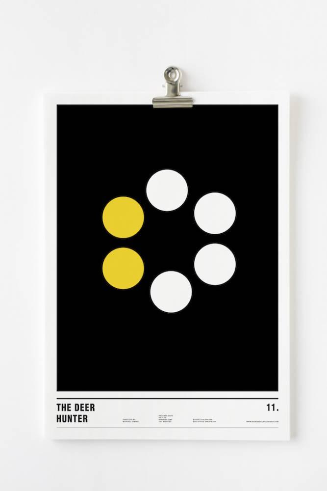 幾何學才是王道!當知名電影海報全由圓圈來設計,你還認得出來嗎?