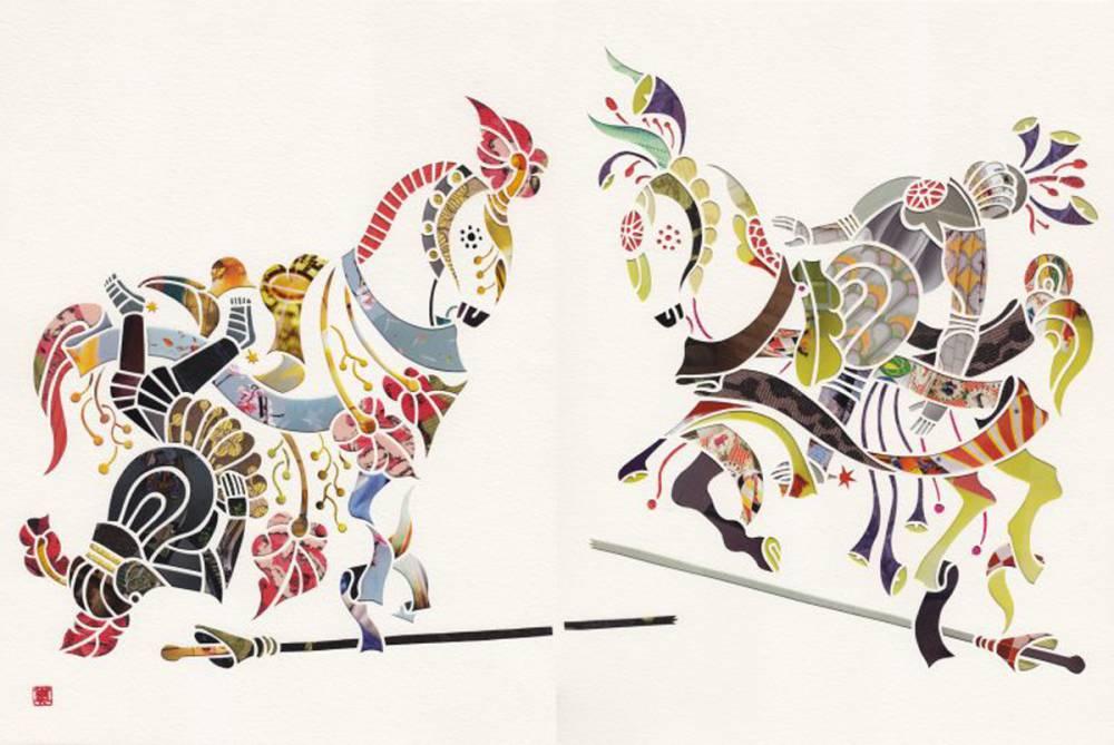 夢境的輪迴轉世:剪紙藝術家 MAYUKO FUJINO 的紙上樂園