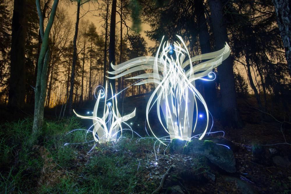 你確定這不是一座燈光裝飾?出神入化光影繪畫直逼藝術等級!
