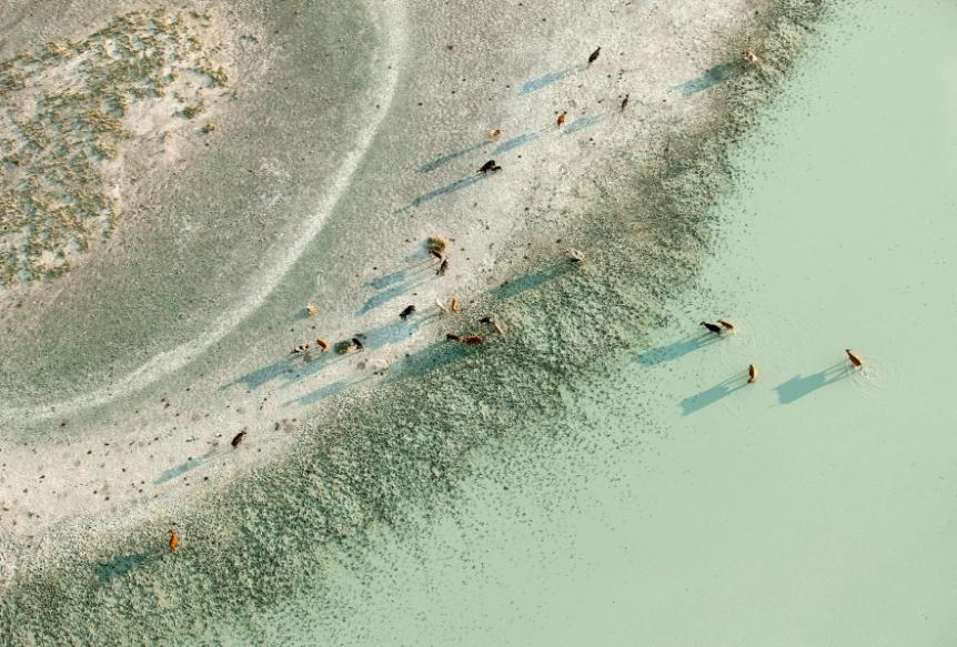透明感自然攝影!美國攝影師Zack Seckler空拍捕捉南非澄澈自然美景_05