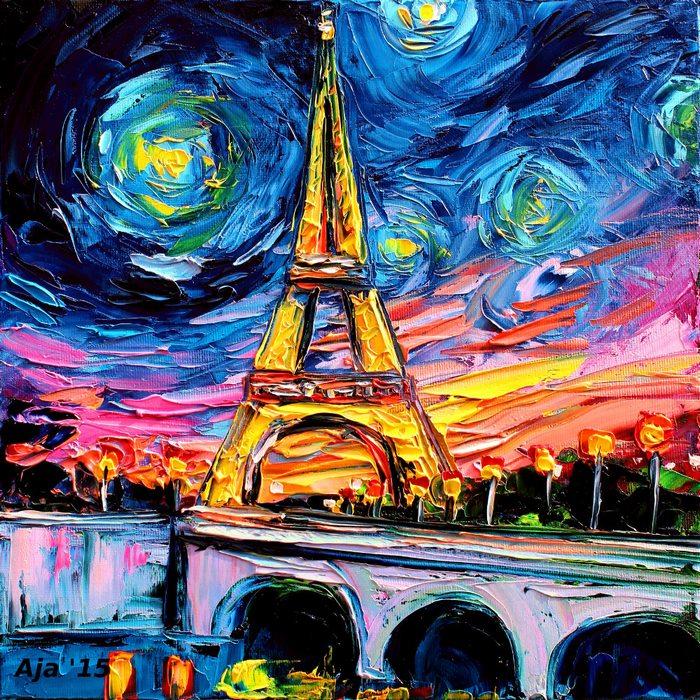 美國藝術家Aja Kusick-巴黎鐵塔