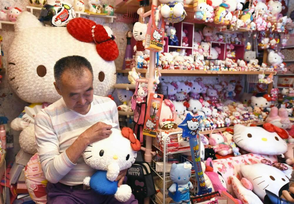 最粉紅夢幻的金氏世界紀錄!日本退休警「少女心」萌發成Hello Kitty收藏家冠軍