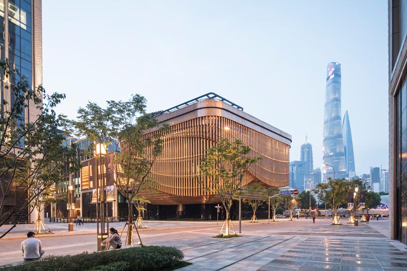 鬼才海澤維克、Foster + Partners聯手!新建築如巨型管風琴現身上海!