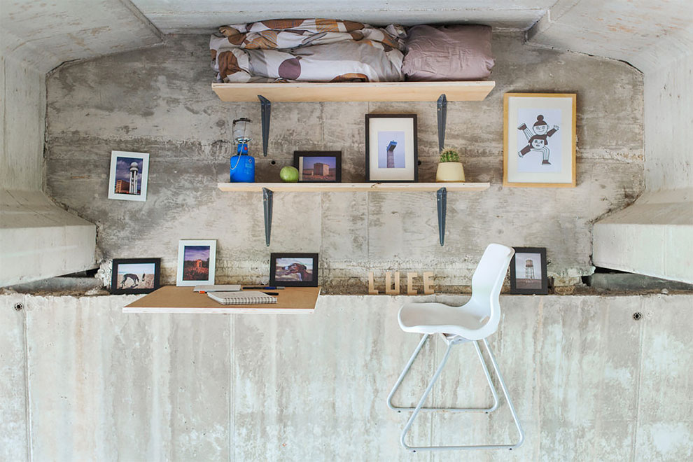 他的工作室隱身「橋下」!西班牙設計師的創意基地不抬頭找不到!