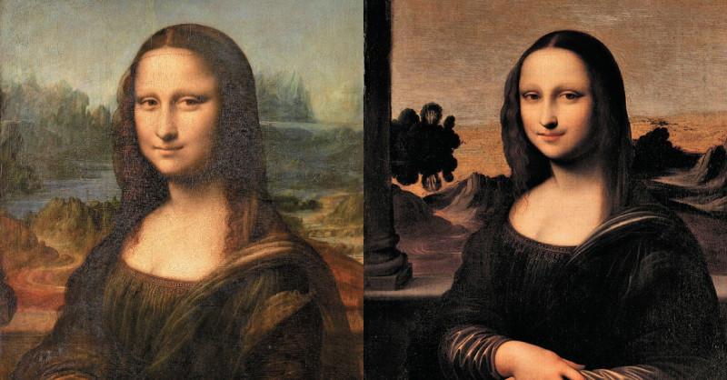 解謎世界名畫:其實這世上還有另一張《蒙娜麗莎》?