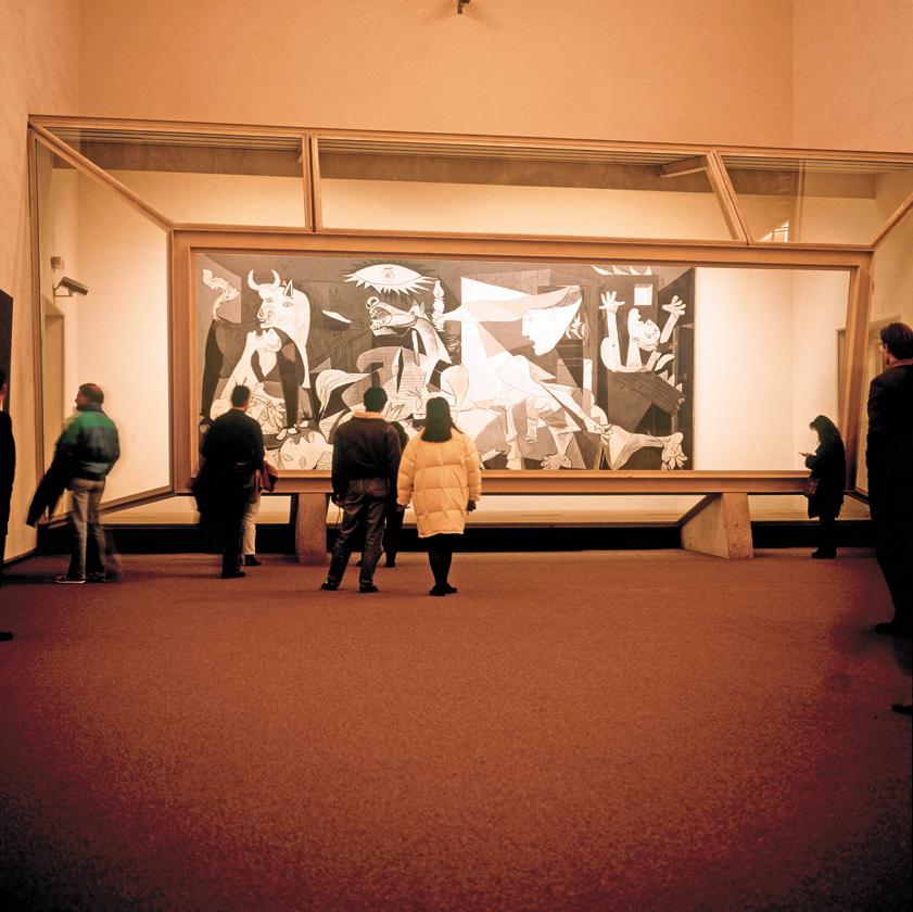 為何畢卡索的鉅作 要用防彈玻璃保護?2