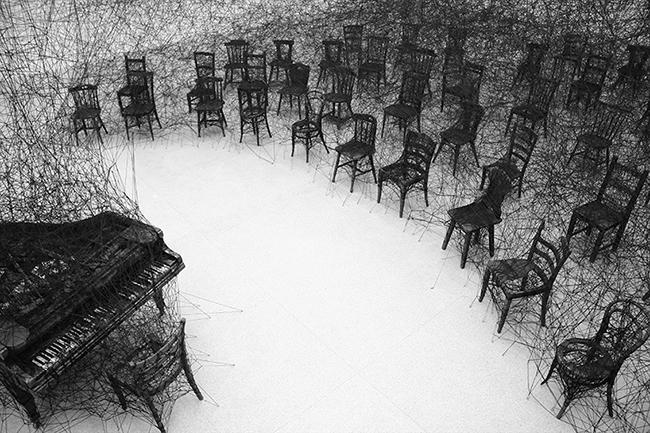 無聲(2008)Centrepasquart 美術館,Biel/Bienne,瑞士。攝影:Sunhi Mang。