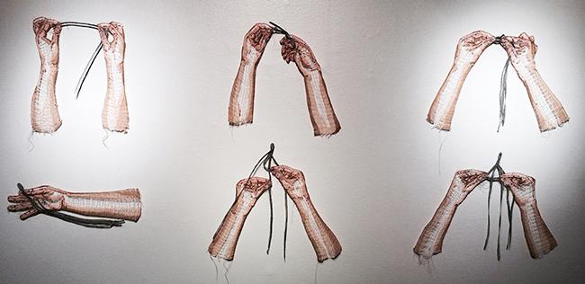 彷彿一吹即散的「線畫」!加拿大藝術家將平面刺繡變身夢幻立體錦簇花團!_0