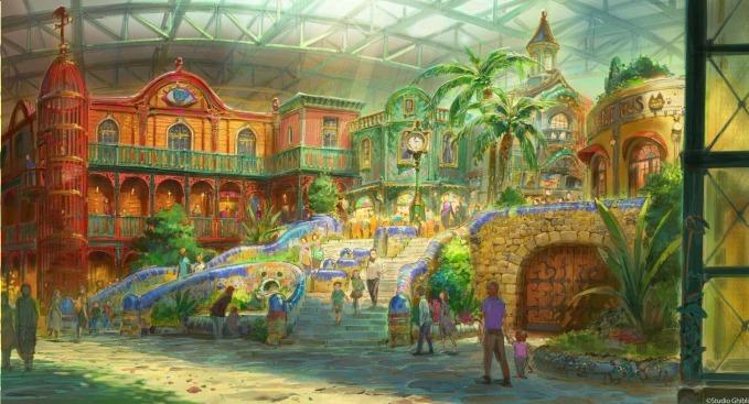 吉卜力主題公園2022年日本愛知縣開幕!真實打造《霍爾的移動城堡》、《龍貓》等經典建築