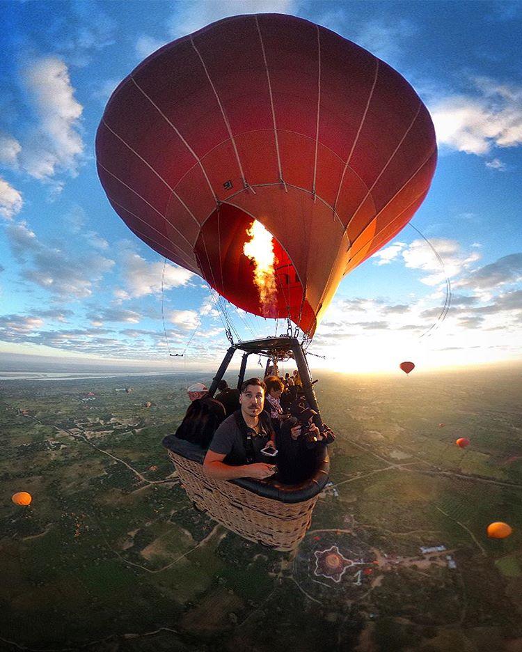 從俯瞰視角空拍緬甸佛塔的華麗與神秘!保加利亞建築師捕捉萬塔之國瑰麗一面_01