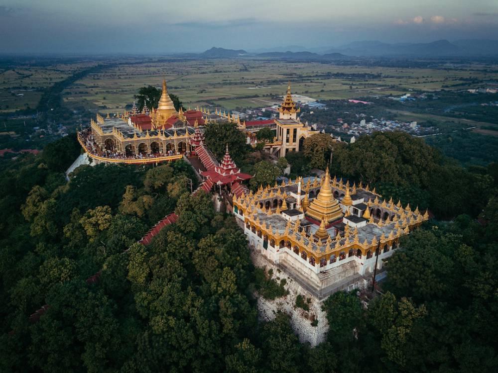 從俯瞰視角空拍緬甸佛塔的華麗與神秘!保加利亞建築師捕捉萬塔之國瑰麗一面_04