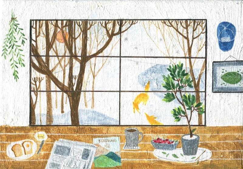 專訪/台灣插畫家兒童島的溫和靜謐創作「用孩子的心,活在大人的世界裡」
