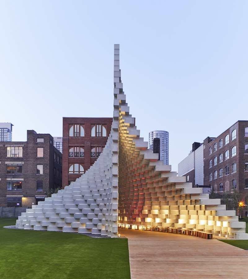 丹麥BIG建築2016蛇形藝廊大作「拉鍊」建築展亭再度亮相3