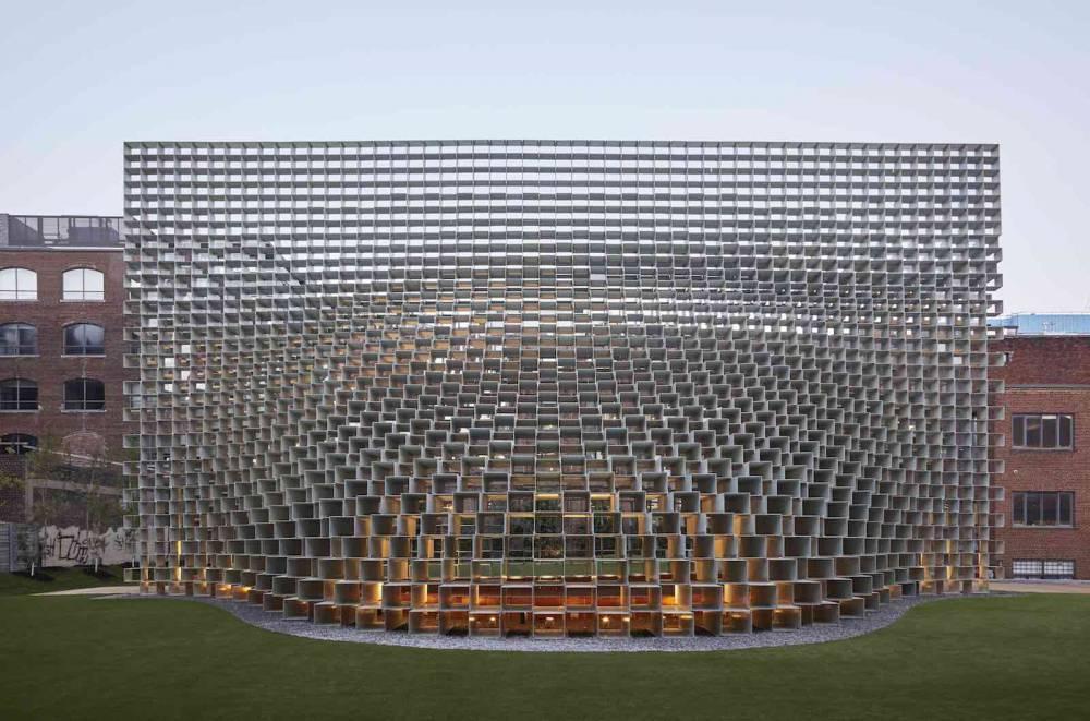 丹麥BIG建築2016蛇形藝廊大作「拉鍊」建築展亭再度亮相2