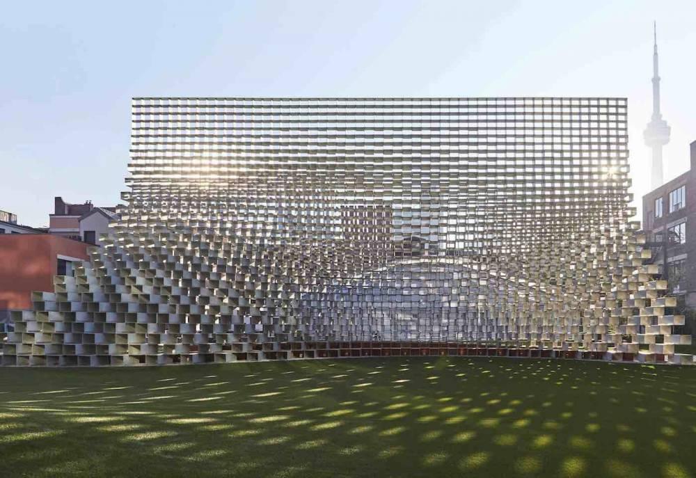 丹麥BIG建築2016蛇形藝廊大作「拉鍊」建築展亭再度亮相4