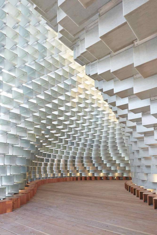 丹麥BIG建築2016蛇形藝廊大作「拉鍊」建築展亭再度亮相5