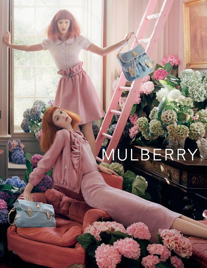Mulberry廣告