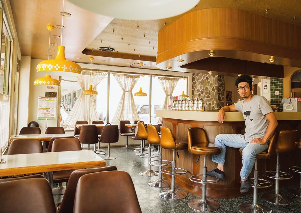 KADOYA 甜點店的創辦人桑原師傅。