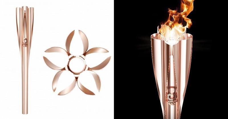 如櫻花般的2020東京奧運聖火火炬!日本設計大師吉岡德仁操刀