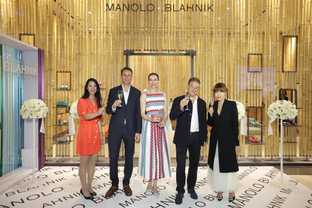 Manolo Blahnik 台北旗艦店開幕儀式