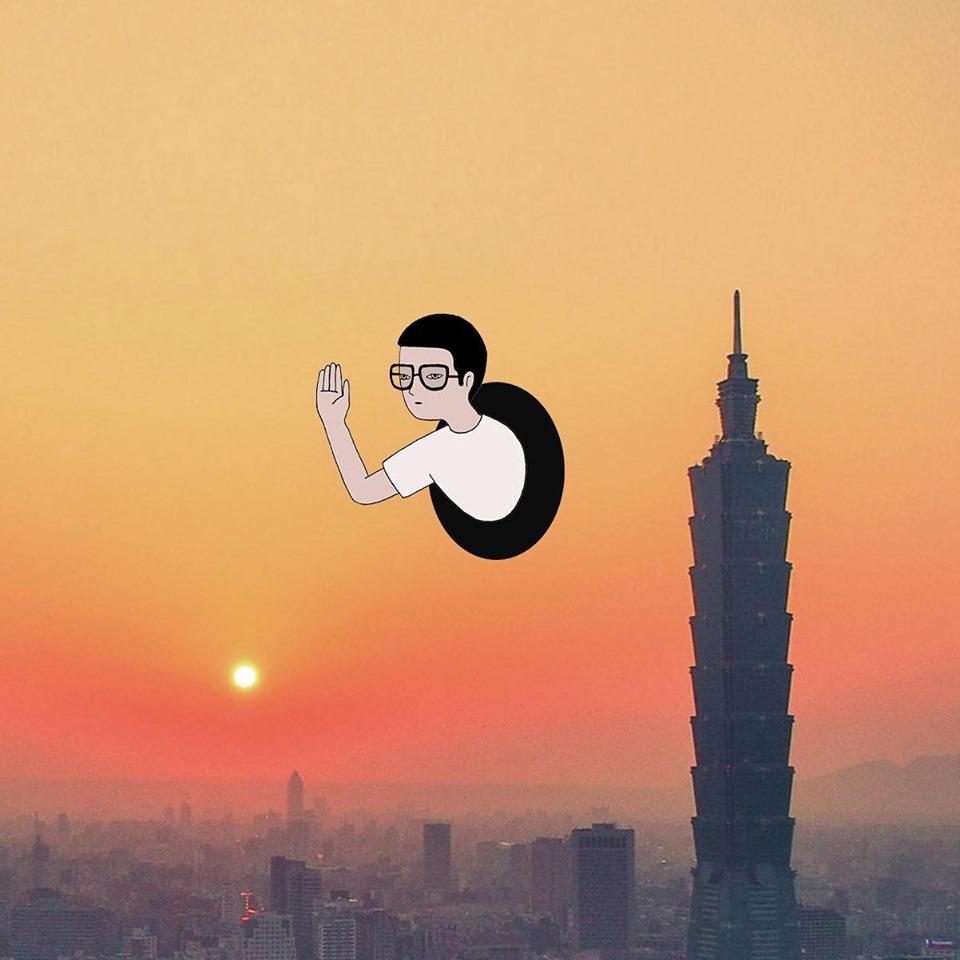穿越黑洞即是家鄉!旅美泰國藝術家Gongkan創作出由現實通往自由的時光機!_11