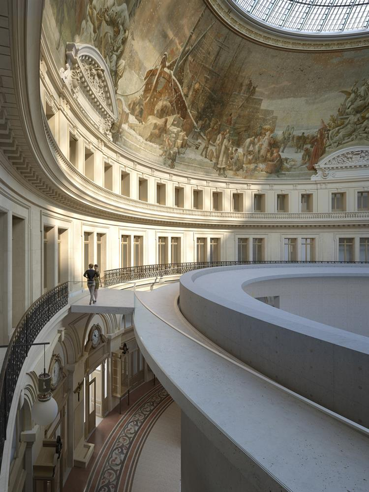安藤忠雄將在巴黎證券交易所內打造全新藝廊