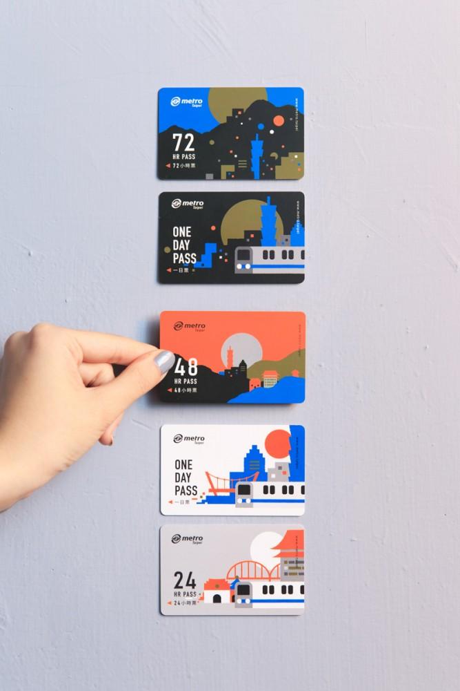 [新聞] 台北捷運旅遊票卡新設計 以隨時台北發想