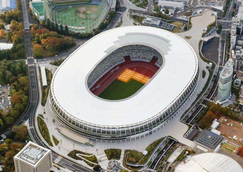 2020東京奧運主場館「新國立競技場」設計!隈研吾以奈良古廟為靈感 日本47都道府縣木材打造