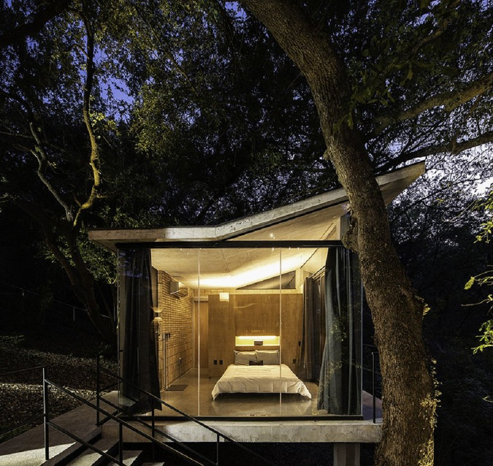 墨西哥森林小屋 因地制宜打造與自然共榮的住所