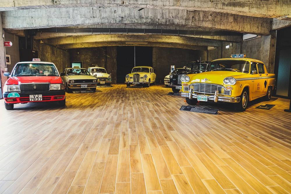 各國經典計程車真車展示區