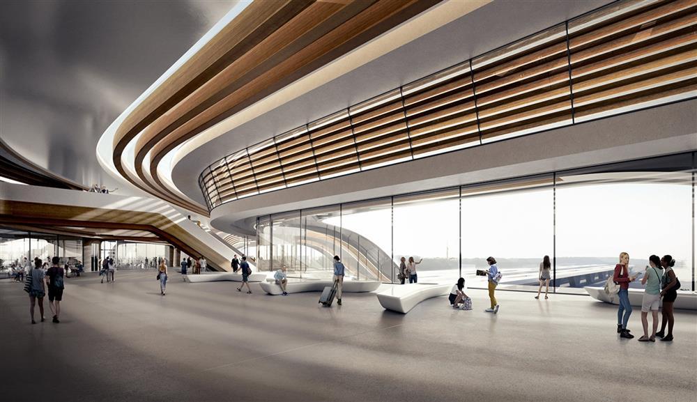 Zaha Hadid建築事務所打造波羅的海巨型轉運站Ülemiste_09