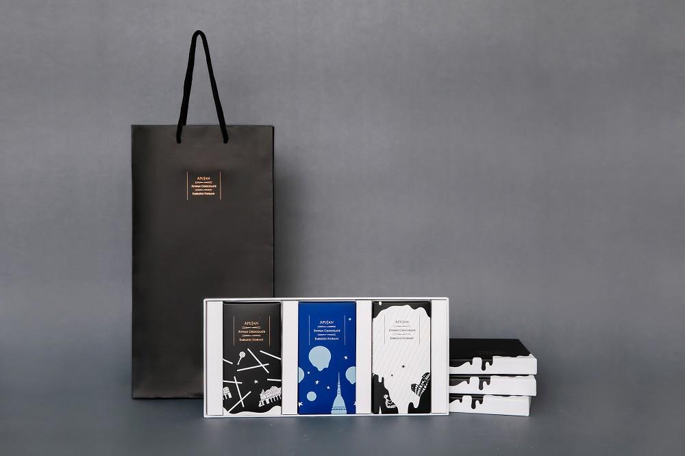 APUJAN與福灣巧克力推出聯名巧克力禮盒