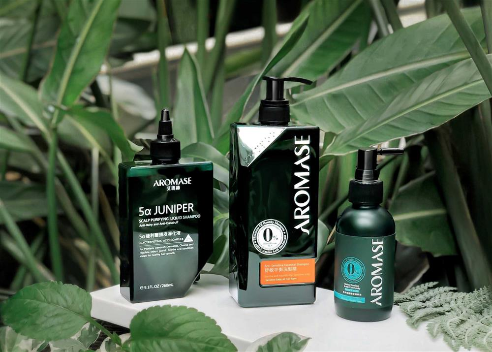 AROMASE艾瑪絲春季頭皮保養,三步驟髮肌養護,打造頭皮健康環境,從日常頭皮潔淨開始做起。