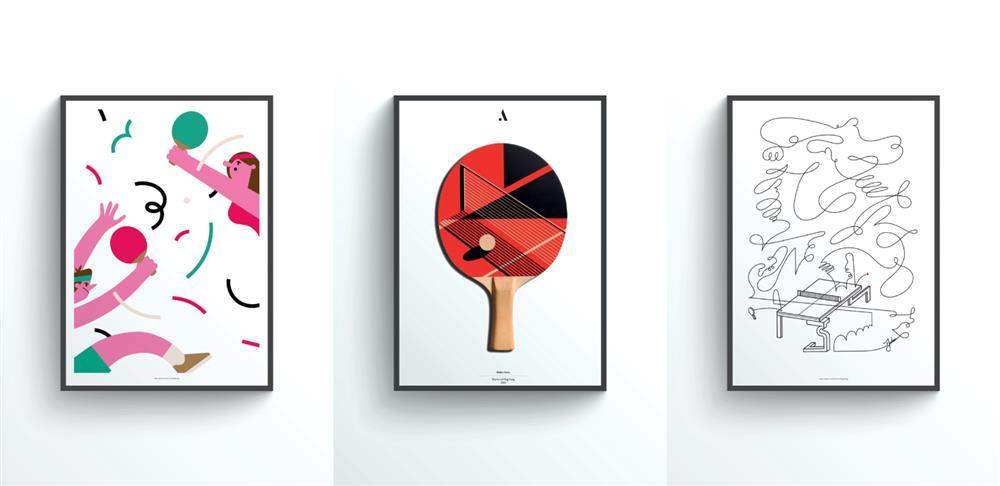 "The Art of Ping Pong ""ArtPrints"""