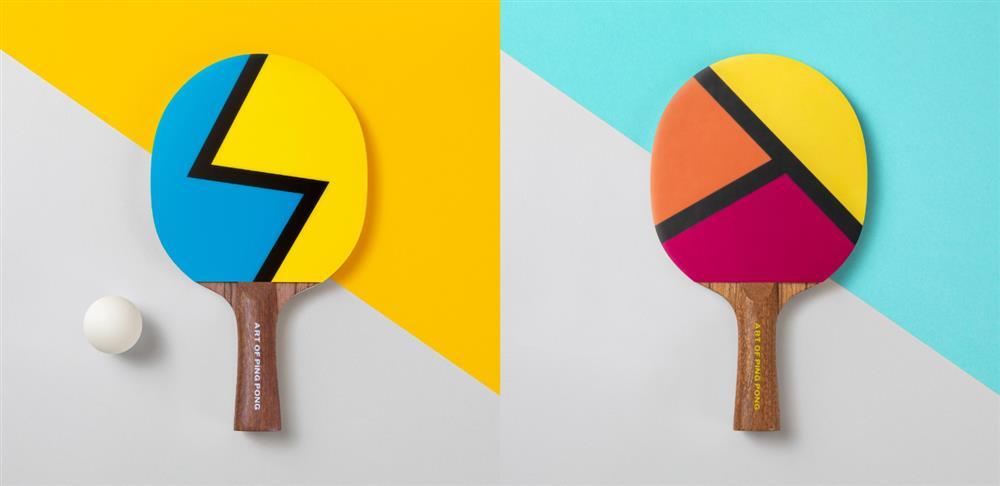 The Art of Ping Pong創意乒乓球拍「ArtBats」