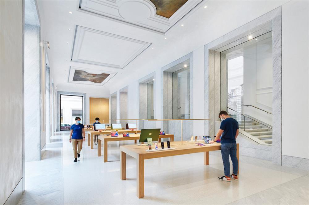 義大利羅馬Apple Store開幕6