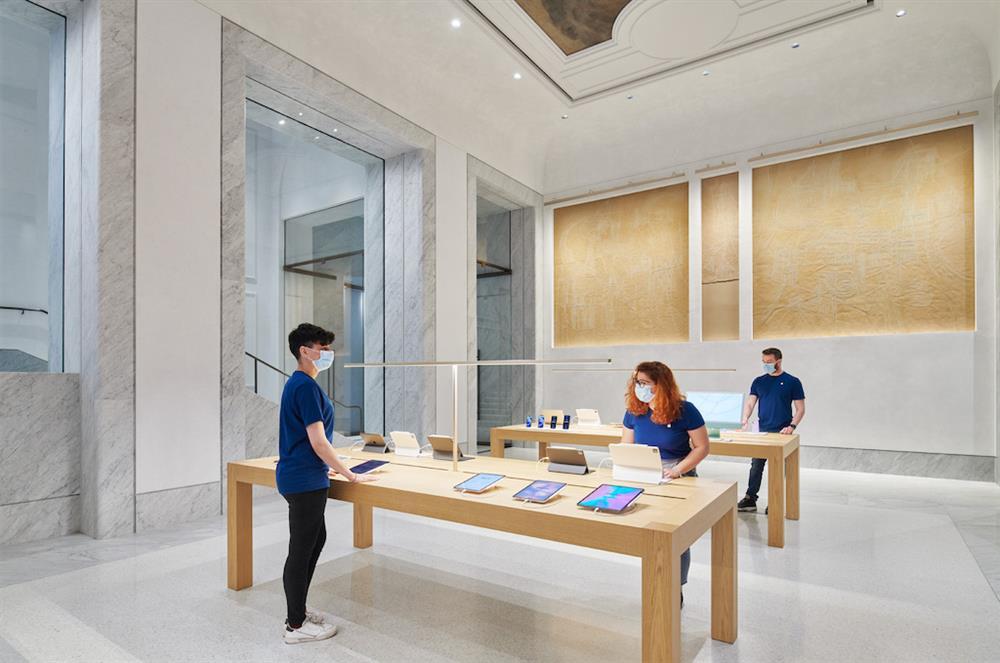 義大利羅馬Apple Store開幕7