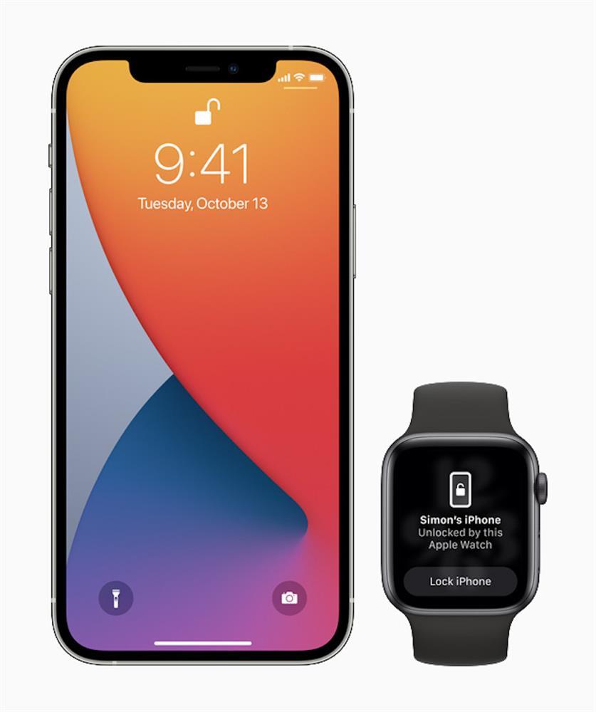 iOS14.5 Apple Watch免拆口罩解鎖iPhone