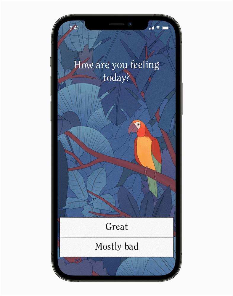 WWDC21 Apple設計大獎_「互動性」獎項獲獎者:由 George Batchelor 推出的 Bird Alone