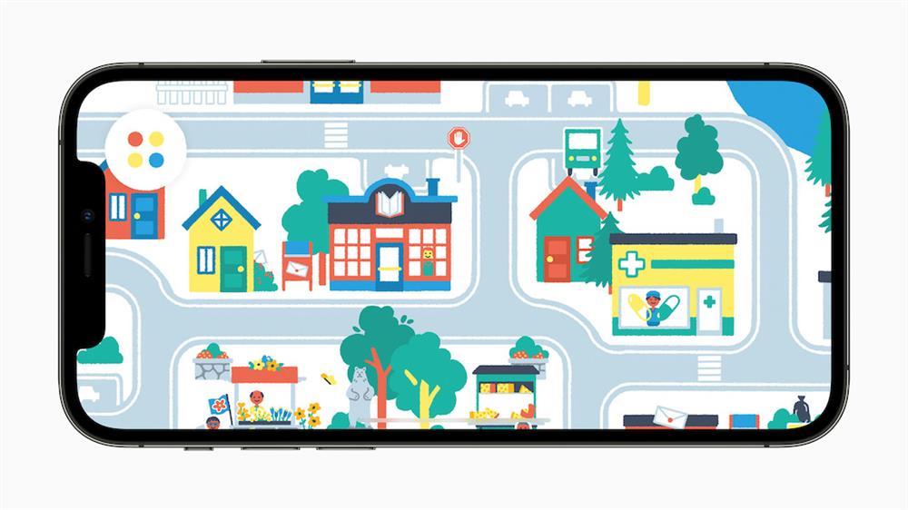 WWDC21 Apple設計大獎_「愉悅與樂趣」獎項獲獎者:由 Pok Pok 推出的 Pok Pok Playroom