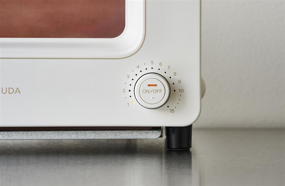 BALMUDA蒸氣烤箱此次新增ONOFF功能