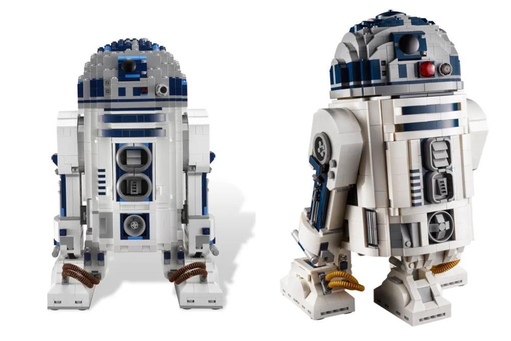 樂高LEGO全新升級《星際大戰》「R2-D2」模型!紀念盧卡斯影業50週年_10