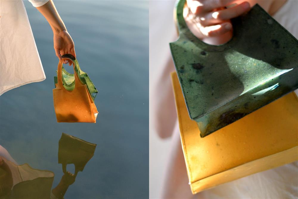 水果皮製成的環保手提袋Sonnet155_01