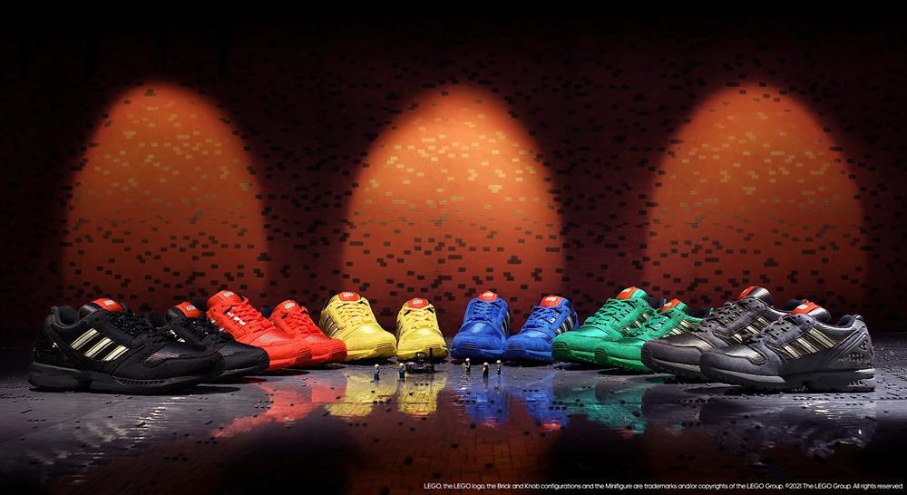 樂高LEGO x adidas Originals ZX 8000聯名鞋款_02