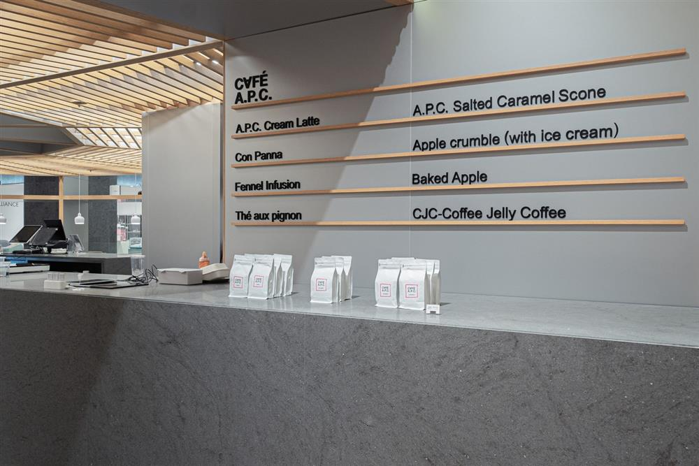 法國品牌A.P.C咖啡廳「CAFÉ A.P.C.」進駐南韓