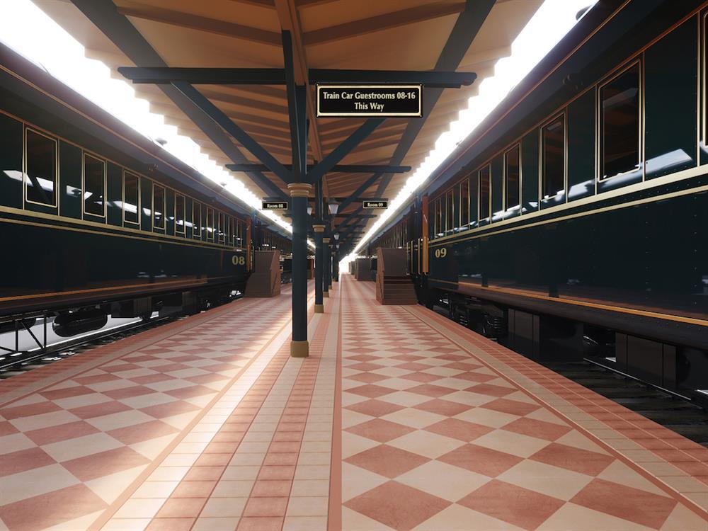 查塔努加火車站變身復古車廂旅店