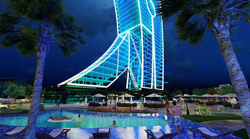 Clothclipe-Tower04_杜拜摩天大樓化身大型藝術品!以曬衣夾為靈感建造的50層樓高「Clothespin Tower」