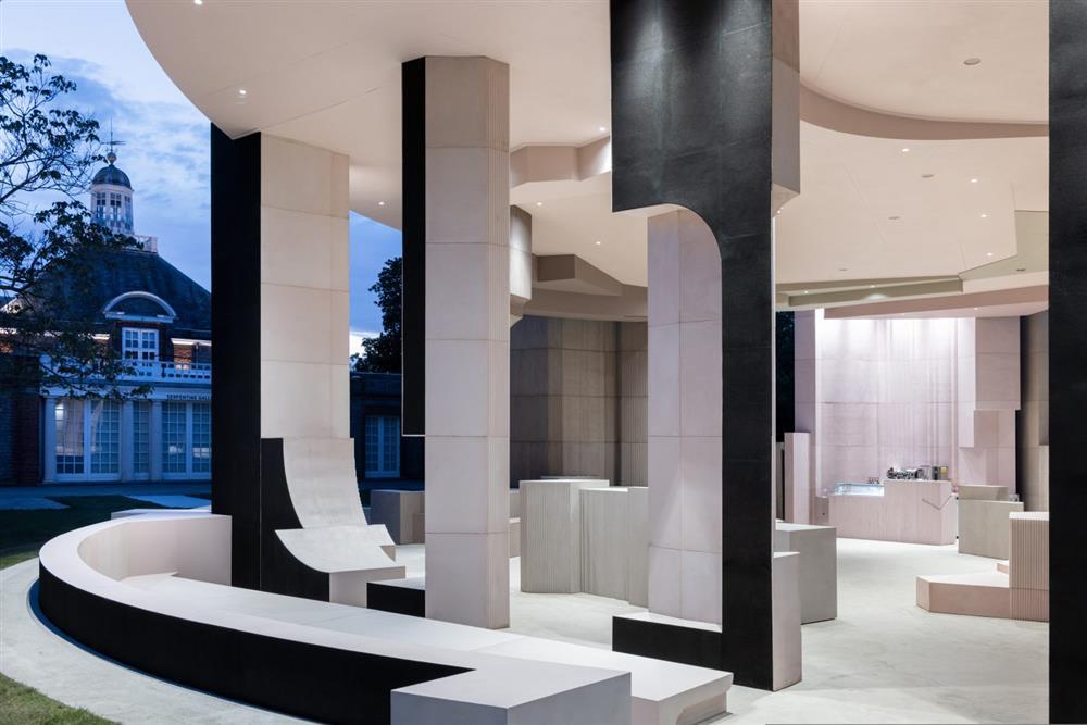2021倫敦蛇形藝廊幾何建築亮相_06