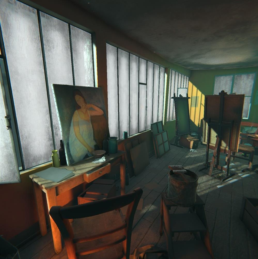 《赭石工作室:莫迪里亞尼VR體驗》